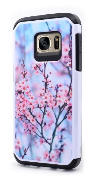 Galaxy S7 Hybrid Pink Plum