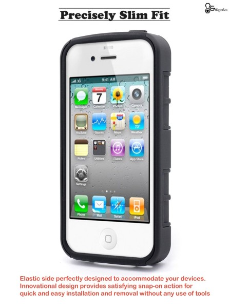 iPhone 4 & 4S Holster Military Black