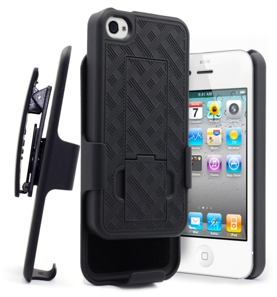 iPhone 4 & 4S Holster Shell Black