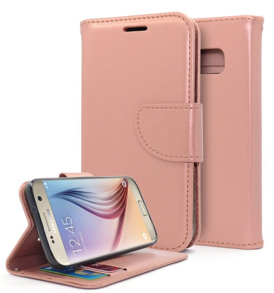 Galaxy S7 Wallet Rose Gold