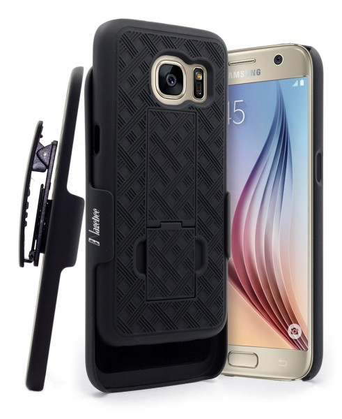 Galaxy S7 Holster Shell Black