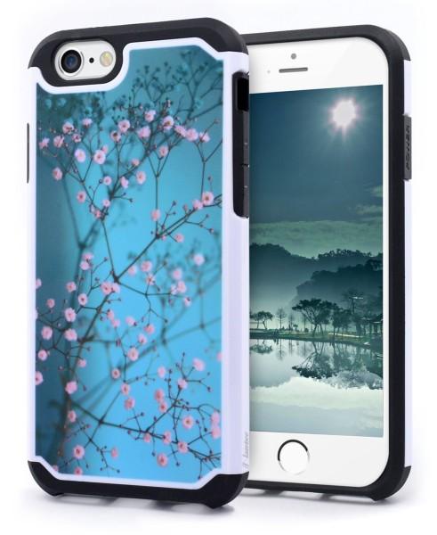 iPhone 6 & 6S Hybrid Plum Blossom