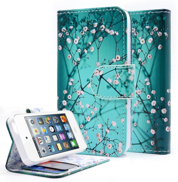 iPhone 4 & 4S Wallet Plum Blossom