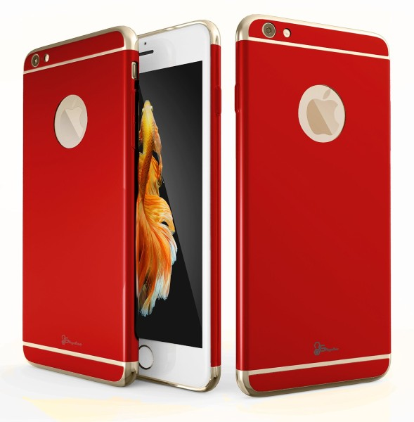 iPhone 6 & 6S Platinum Series Red