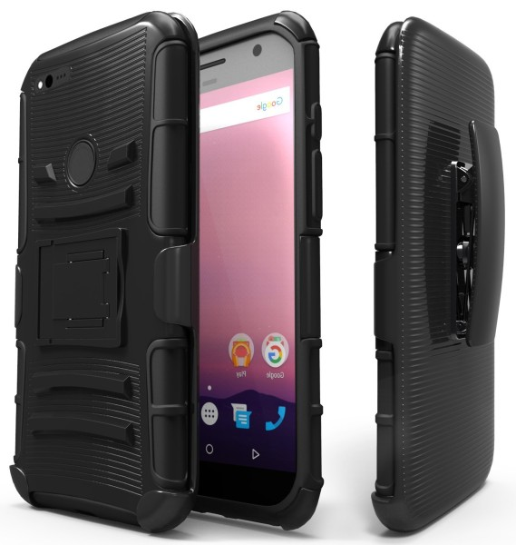 Google Pixel Holster Combo with Belt Clip – Black